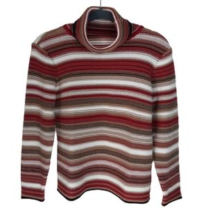 Talbots Petites colorful striped sweater, …